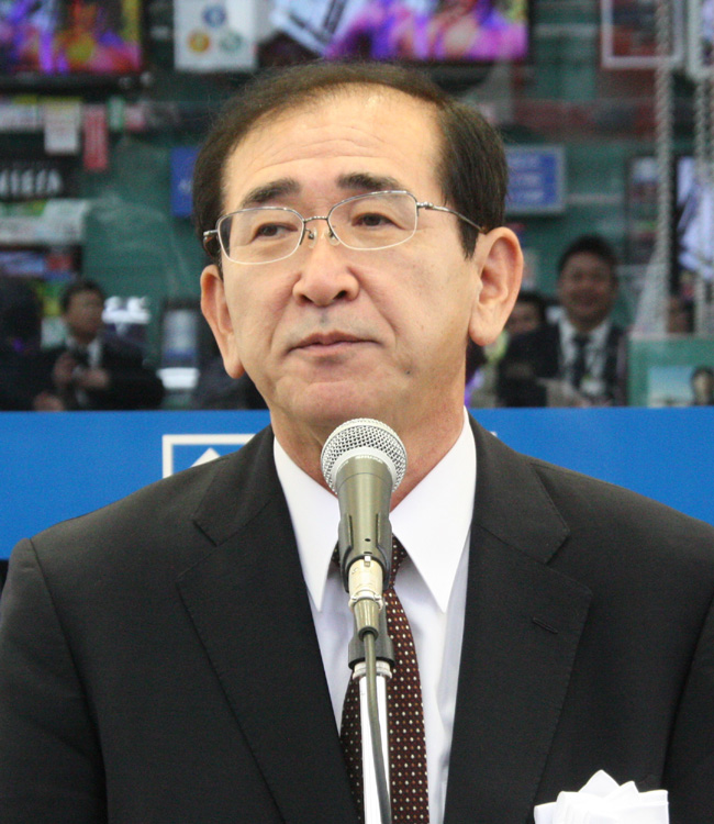 ヤマダ電機 代表取締役社長兼代表執行役員 COO 一宮忠男氏
