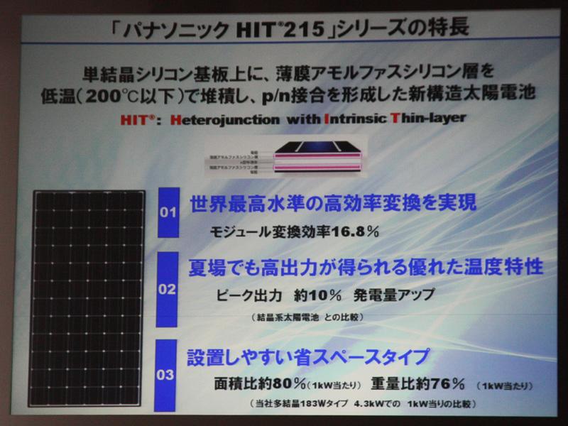 "<font color=""navy"" size=""2"">HIT太陽電池の特徴のまとめ</font>"