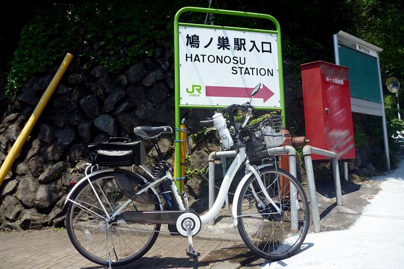 鳩ノ巣駅に到着。奥多摩湖まであと12kmくらい