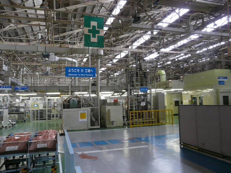 室内機を生産する第2工場。1980年から稼動している