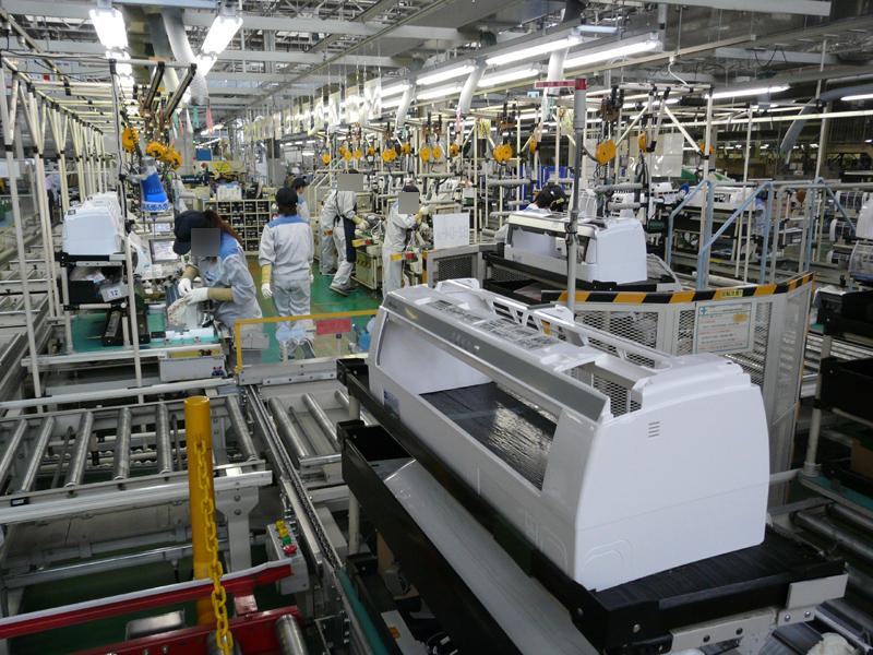 セルとラインを結合することで効率的な生産を実現