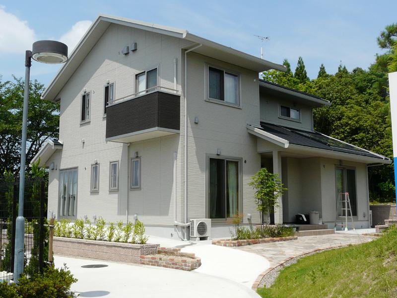 こちらは工場内の「ダイキンエコ・ラボ」と呼ばれる住宅。実際に生活をして様々な実績を行なう