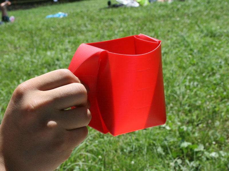 完成したマグカップ