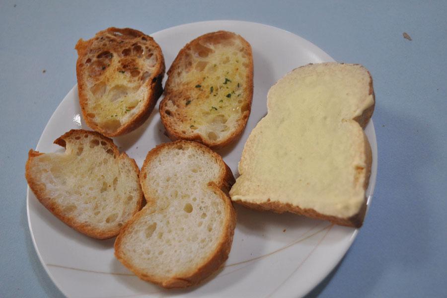 フランスパンで作ったラスクのほうが、はるかにおいしい!