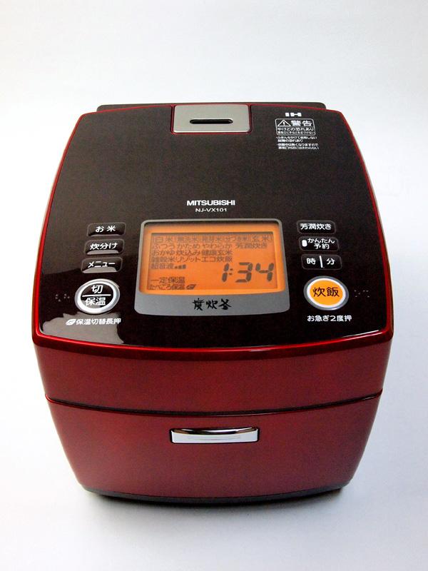 三菱IHジャー炊飯器「炭炊釜」NJ-VX101