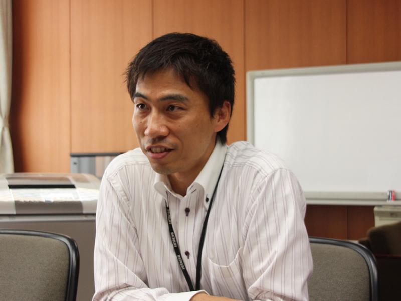 日立アプライアンス家電事業部 家電事業企画本部 事業企画部 部長代理 津坂明宏氏