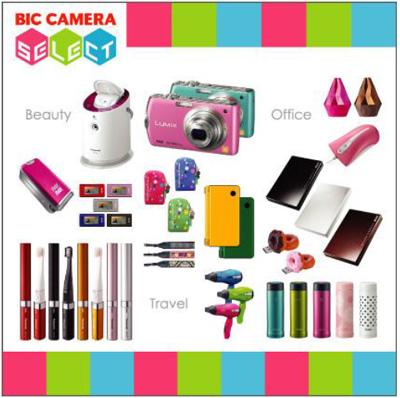 ビックカメラ セレクトで扱われる商品の一例