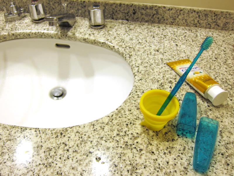 歯磨き時に利用