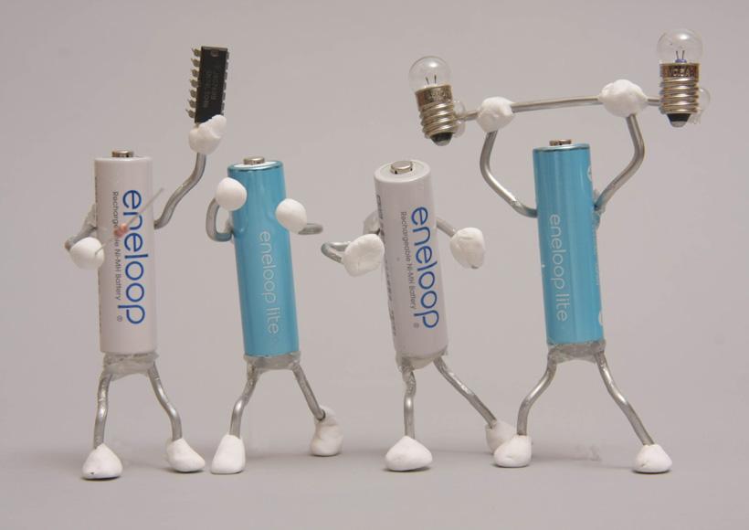 エネループとエネループライトの連載も今日で最終回。今回は充電器とメモリー効果の話をするよ!
