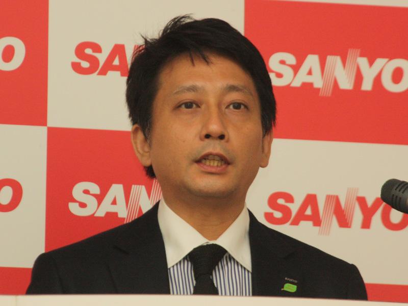 三洋電機 強化事業推進本部 eneloopユニバース事業推進グループ 水田一久課長