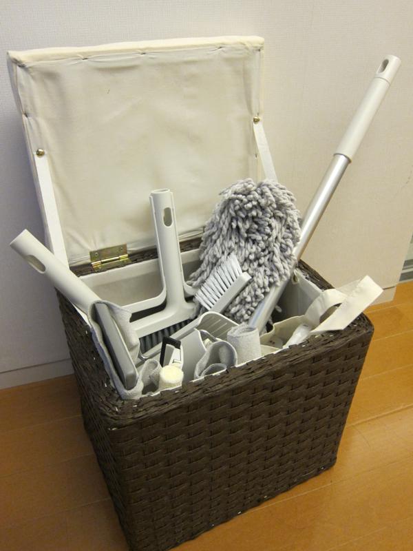 無印良品「掃除用品システム」