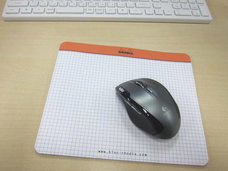 RHODIA「クリックブロック マウスパッド」