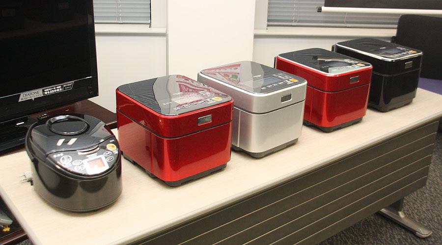三菱電機が2月1日より投入する、最高級モデルの炊飯器