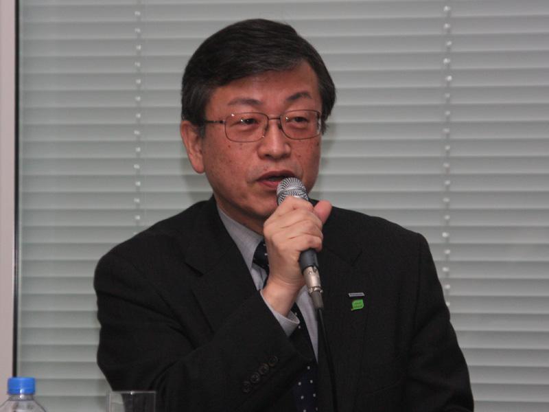 パナソニック ホームアプライアンス社 燃料電池プロジェクト 技術グループ 岩佐隆司グループマネージャー