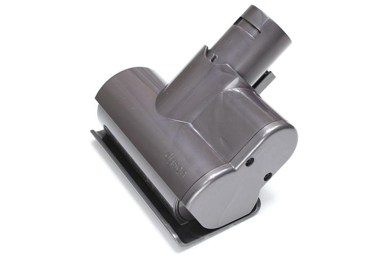 電動でブラシが回転するミニモーターヘッド。幅は約115mm