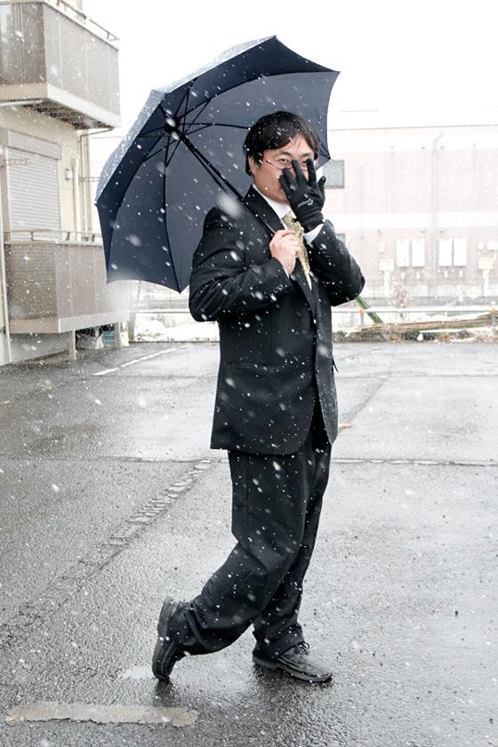 無印良品 「2通りにたためる折りたたみ傘」