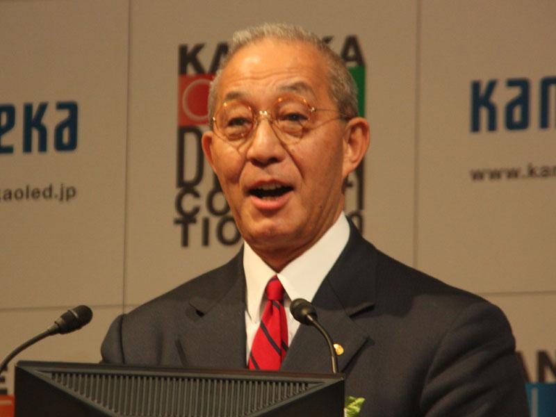 カネカの菅原公一 代表取締役社長