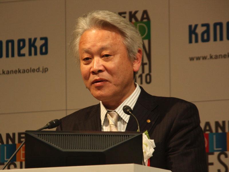 カネカの取締役常務執行役員 永野広作氏