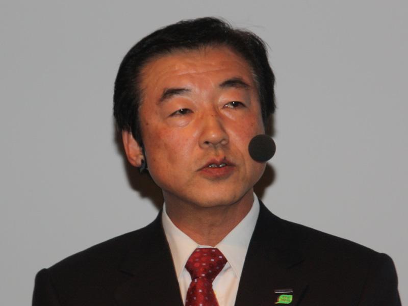 パナソニック電工 照明事業本部 松蔭邦彰本部長