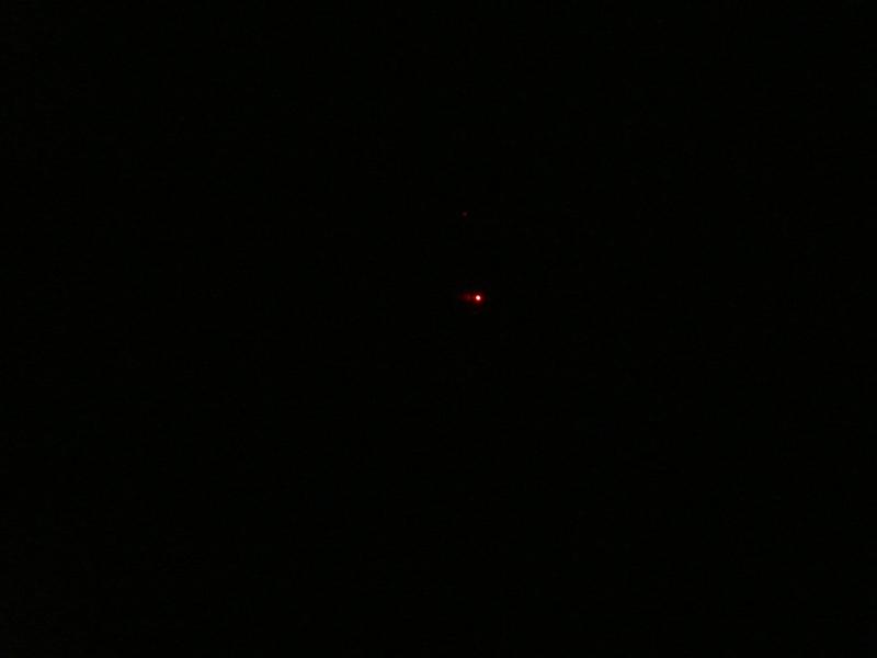 停電時は真っ暗だ