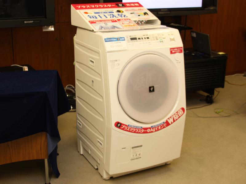 シャープ「ドラム式洗濯乾燥機 ES-V520」
