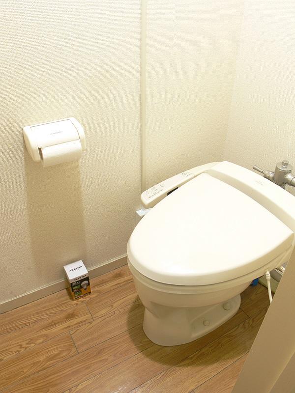 <b>【エクスレディア・昼光色】<br></b>狭い空間にはいくらなんでも明るすぎる。トイレには向かない