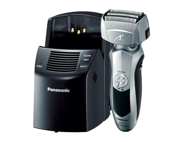 「ES-LF70」は4枚刃の洗浄器付きモデル