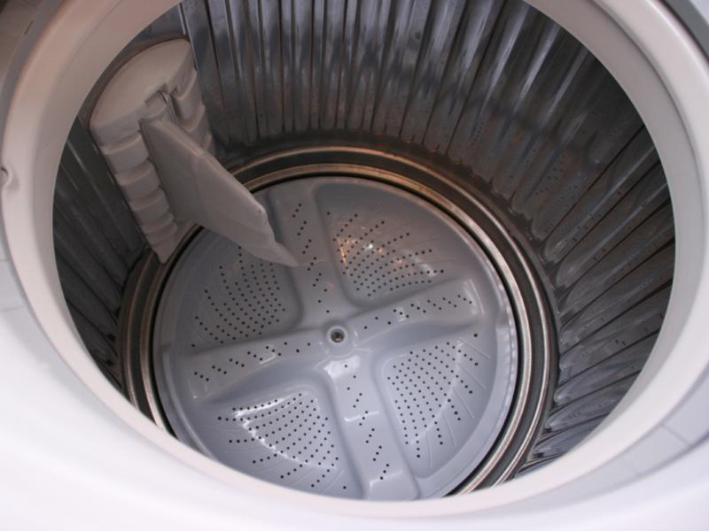 洗濯槽底部のパルセーター