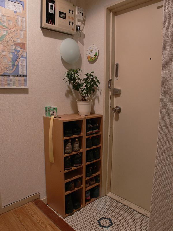 <b>【白熱電球:40W形】<br></b>玄関としては、もうすこし明るさが欲しいか