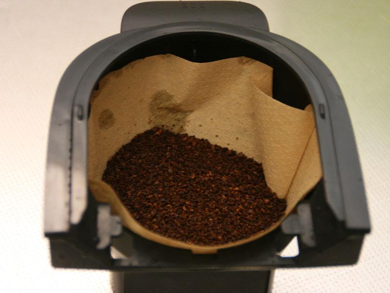 ドリップコーヒー用のコーヒーバスケット