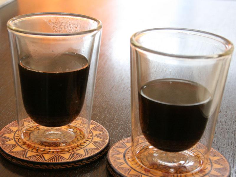こちらはドリップコーヒー