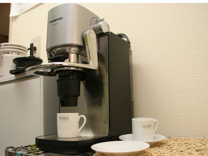 パナソニック「エスプレッソ&コーヒーマシン NC-BV321」