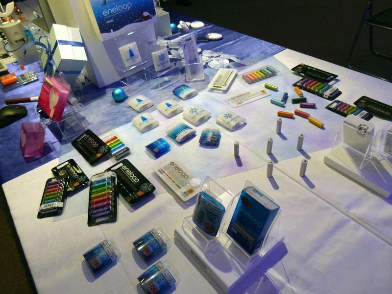 三洋電機が発売する充電池「eneloop」シリーズ