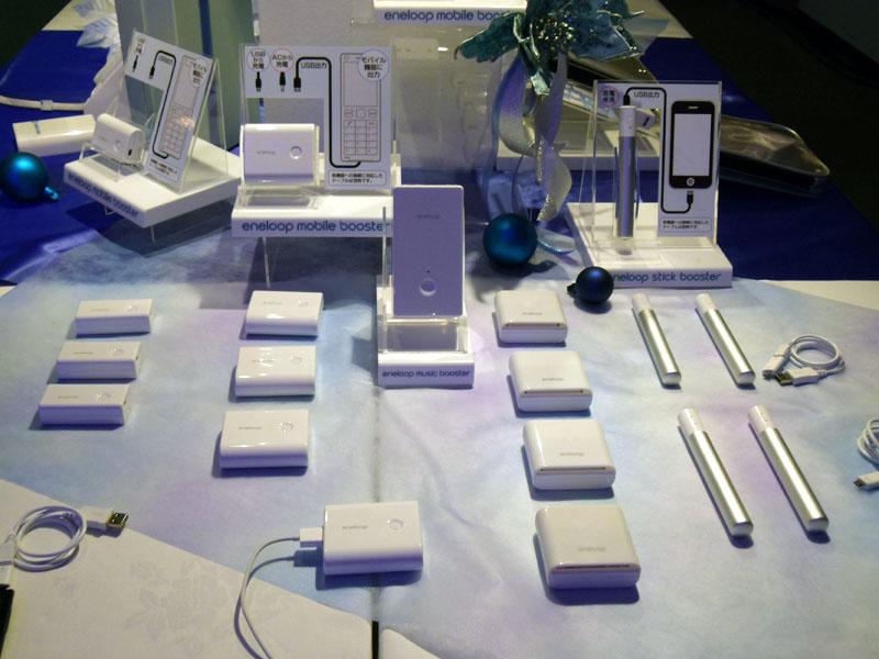eneloop mobile boosterシリーズの各製品