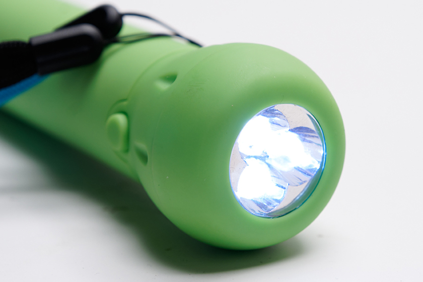 LEDを3基搭載