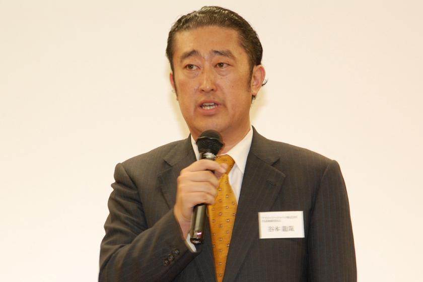 アイビージージャパンの代表取締役社長谷本龍哉氏