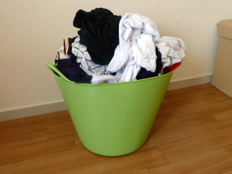 約8kgの洗濯物を入れたところ