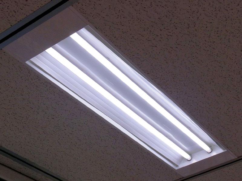 今回設置される直管形LEDベースライト