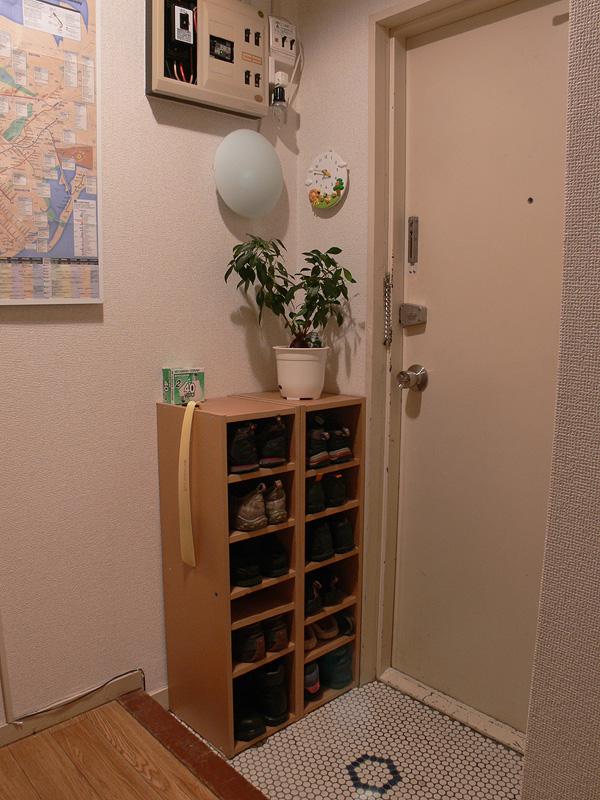 <b>【白熱電球:40W形】</b><br>玄関としては、もうすこし明るさが欲しいか