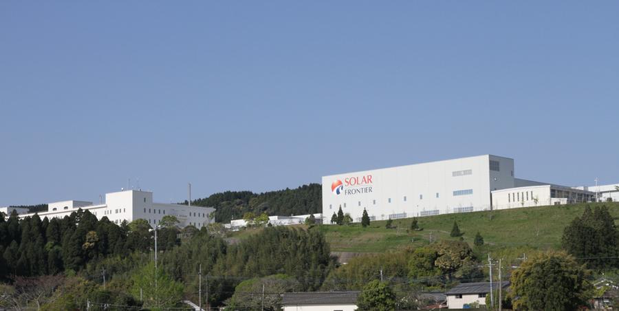 ソーラーフロンティアの宮崎第3工場