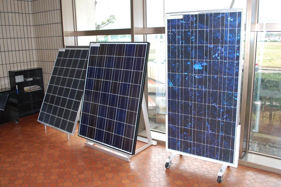 多結晶シリコン太陽電池