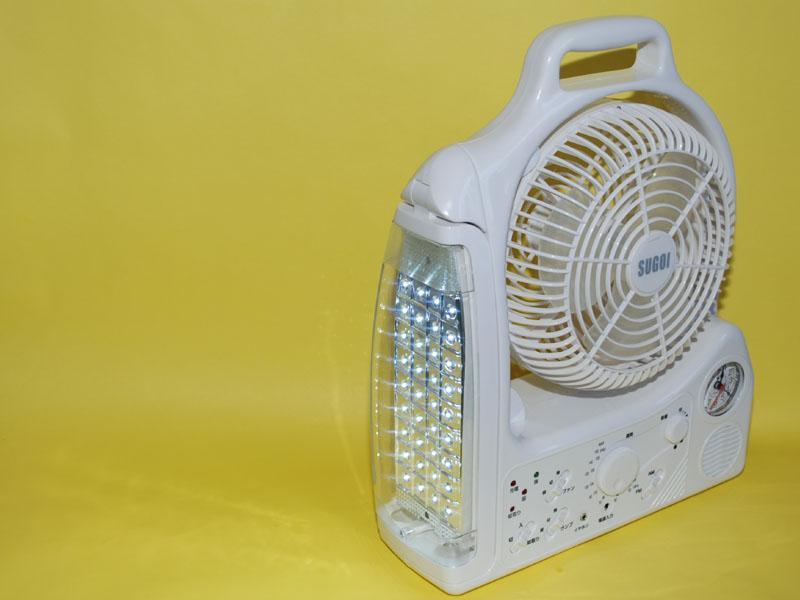 LEDライト。このままでも手提げライトとして使える