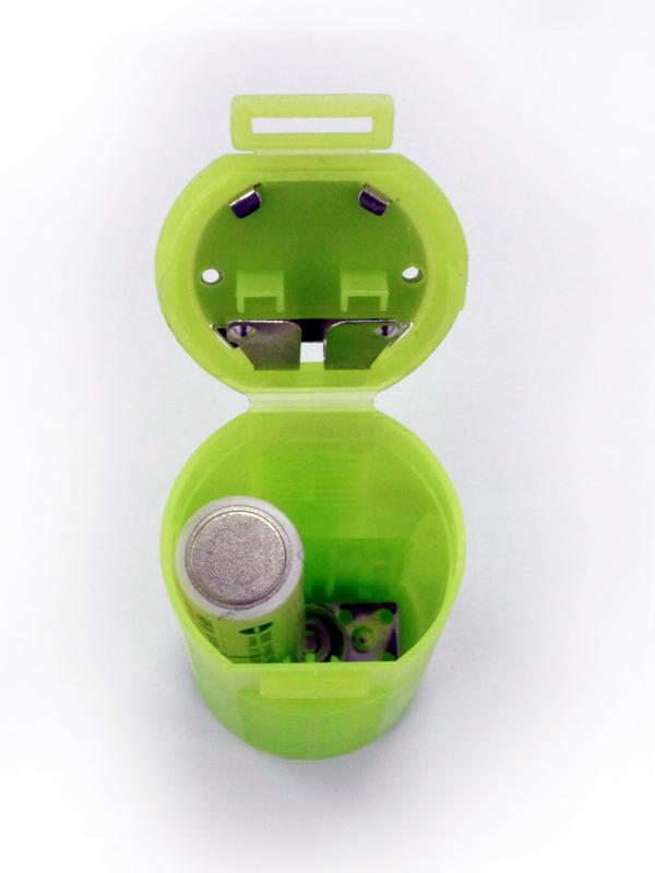 電池は1個でも使用できる