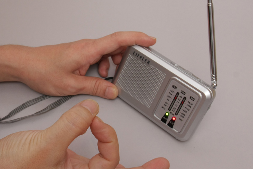 電池をNOPOPOに替えてもバッチリ受信OK!