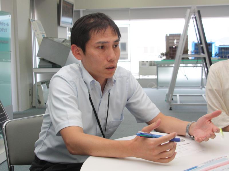 シャープ ソーラーソリューション事業推進センター・システム企画室 佐藤努係長