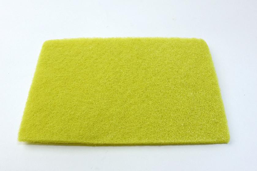 洗浄用スポンジ。本体容器や、回転刃、ヒーターなどにこびりついたカスを洗うのに便利