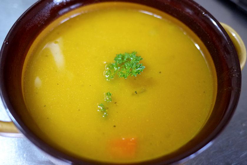 スープそのものの味は上々