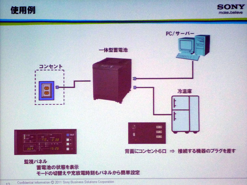 コンセントと電気を使用する機器の間に設置する