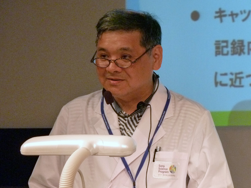 ソニーのエンジニア 新倉英生氏