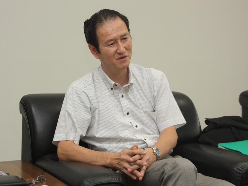 京セラソーラーコーポレーション 事業推進本部事業推進事業部長 戸成秀道氏